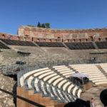 タオルミーナの「ギリシャ劇場」世界一美しい!と文豪ゲーテが絶賛