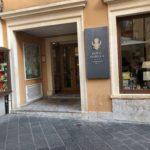 タオルミーナ ウンベルト一世通りのホテル イザベッラ(Hotel Isabella)