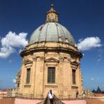 世界遺産 パレルモ大聖堂 (カッテドラーレ) の屋上に昇ってきた!