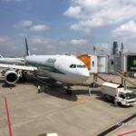 アリタリア航空AZ784便 ローマ-成田 ビジネスクラス搭乗記