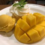 「マンゴタンゴ」バンコク アジアティーク店 マンゴーが美味しかった!