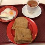 【元祖カヤトースト】「ヤクン」ブギス店で人生初のカヤトースト
