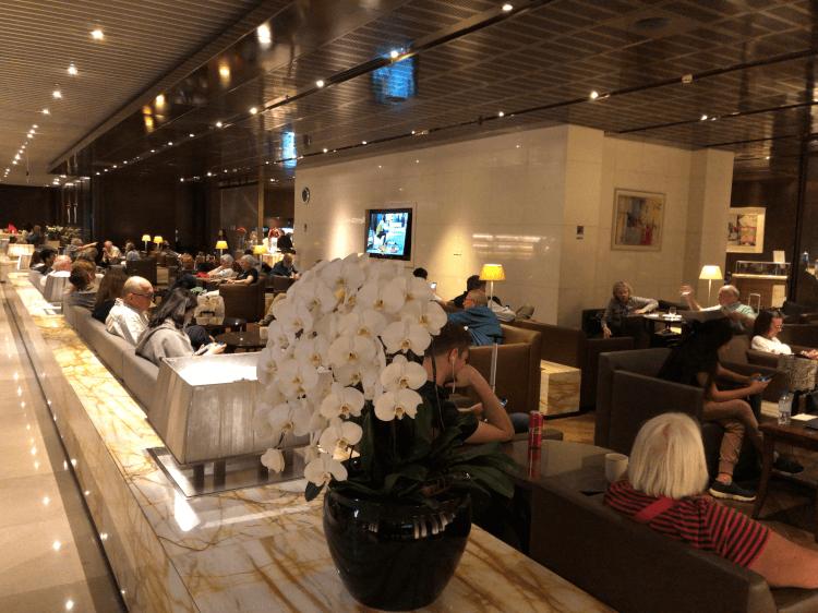シルバークリスラウンジ@チャンギ国際空港 ターミナル3