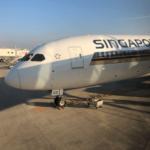 【激安ビジネスクラス】シンガポール航空 SQ656便 シンガポール-福岡 搭乗記
