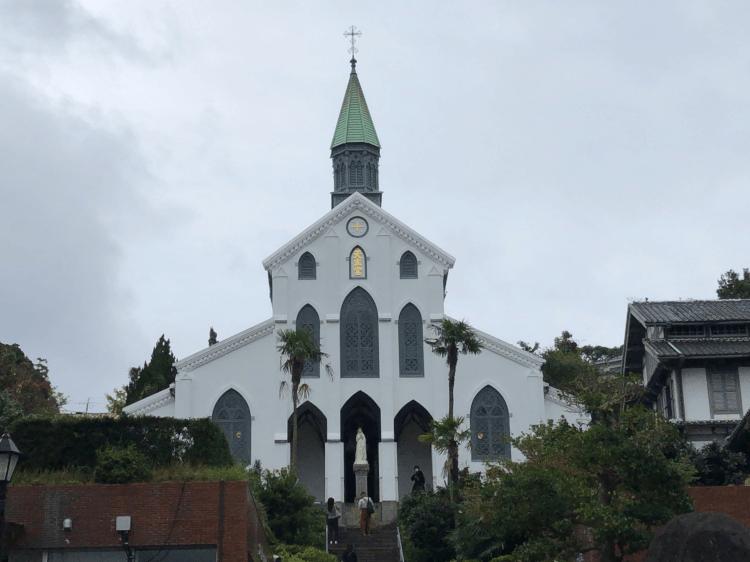 昼の大浦天主堂