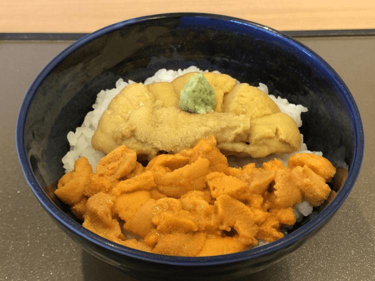 食べ比べ丼@うにむらかみ 函館本店