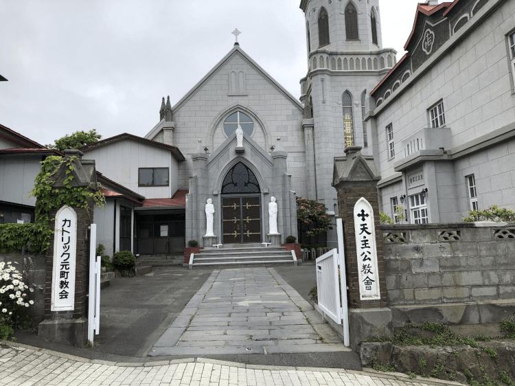 カトリック元町教会@函館