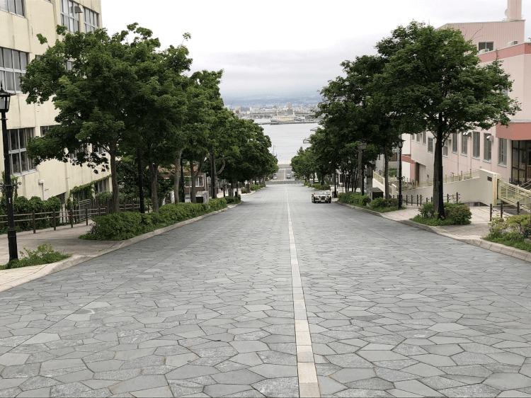八幡坂@函館 元町